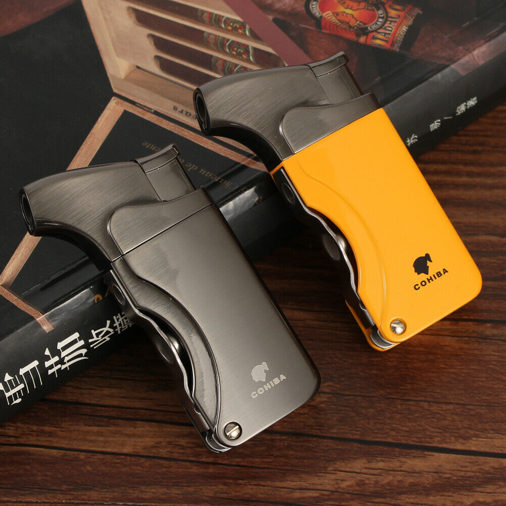 Cohiba Cigar Lighter Torch Jet Flame Refillable Cigarette Ci