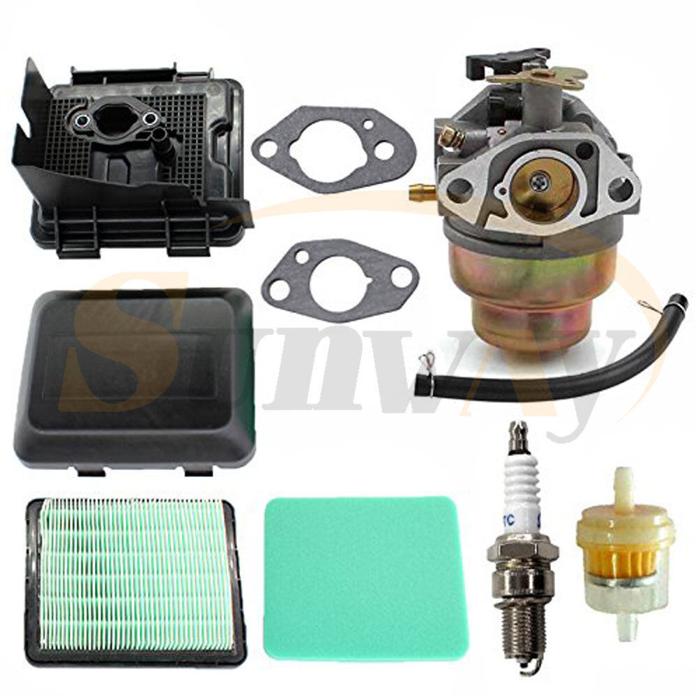 Carburetor Air Filter Cover Fuel Filter Kit For HONDA GCV135 GCV160  Carburettor