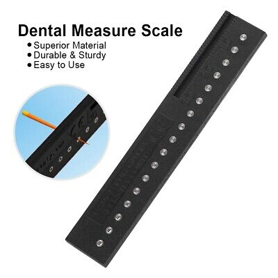 Endo Gauge Ruler For Gutta Percha Point Endodontic Dental Tool Autoclavable