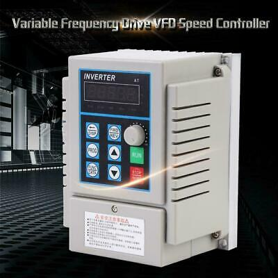 0.75kw Ac 220v Variable Frequency Drive Vfd Speed Control Inverter Single Phrase