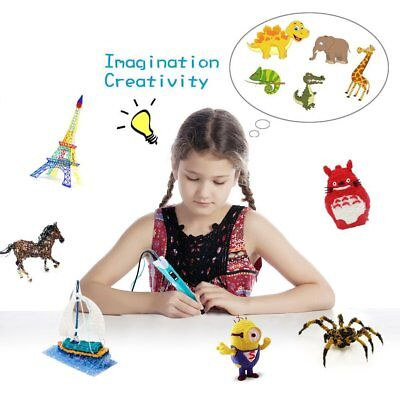 SMAGREHO 3D Printing Drawing Doodle Pen Crafting ABS PLA Filament Arts Printer