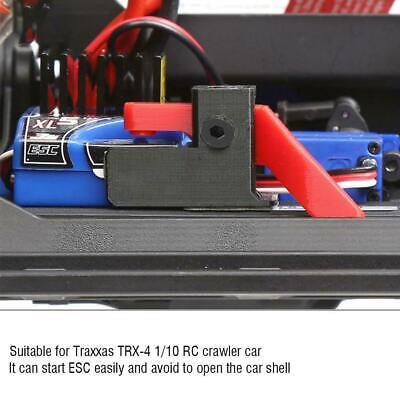 Transfer-schalter (ESC Easy Start Trigger Power Transfer Schalterhalterung für 1/10 TRAXXAS TRX-4)