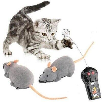 RC Elektronische Ratte Maus Lustig Spielzeug Mit Fernbedienung Für Katzen Hunde