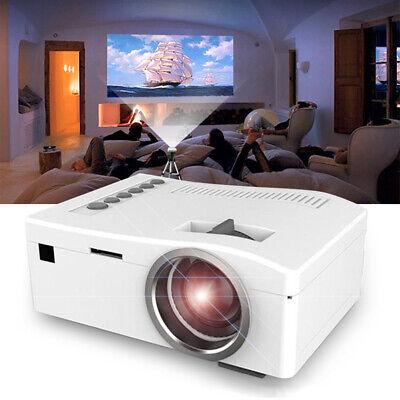 Portable Mini Projector HD 1080P Home Theater LED Video Movi