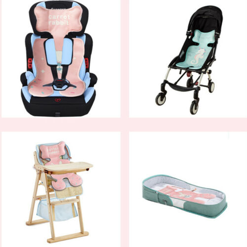 US Baby Viscose Stroller Liner Pad Cooling Car Seat High Chair Crib Side Pillow