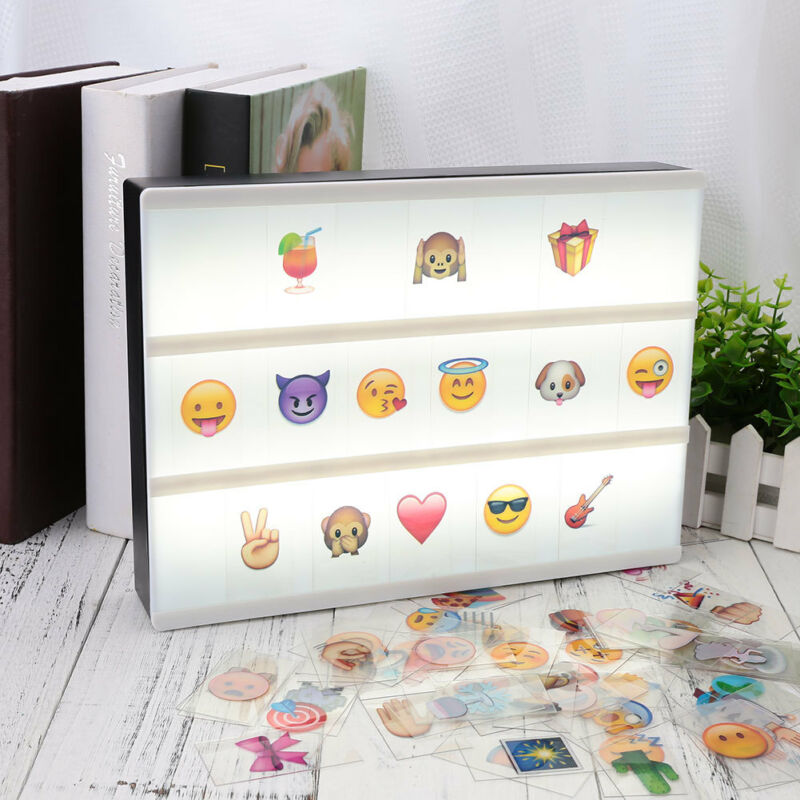 85pcs Replacement A4 Light Box Letters Cards Sign LED Cinema