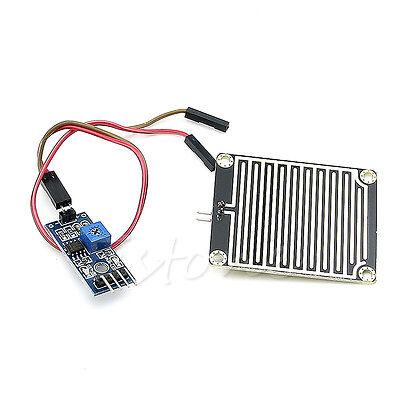 Raindrops Detection Sensor Rain Module Weather Module Humidity For Arduino 1pc