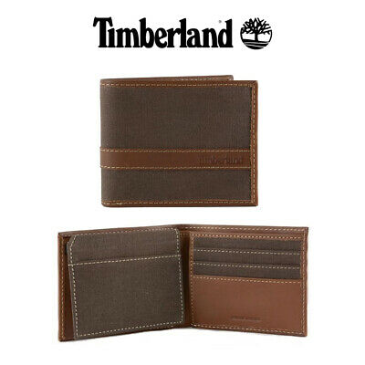 Timberland Leather Wallet Baseline Passcase Wallet Dark Brown One Size Clothing, Shoes & Accessories