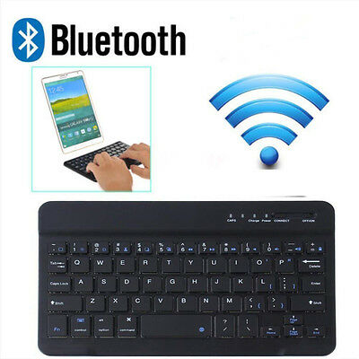 Wireless Bluetooth Tastatur Keyboard Handy Tablet Slim Design Bluetooth V 3.0