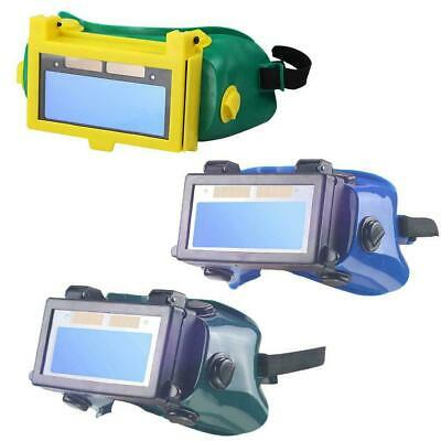 Solar Auto Darkening Eye Cover Welding Helmet Eye Glasses Goggles For Welder