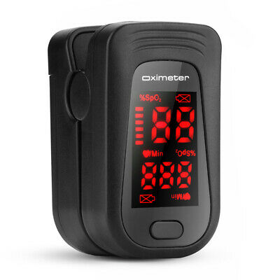 Finger Pulse Oximeter Blood Oxygen Saturation Spo2 Meter Pr Monitor Fingertip Us