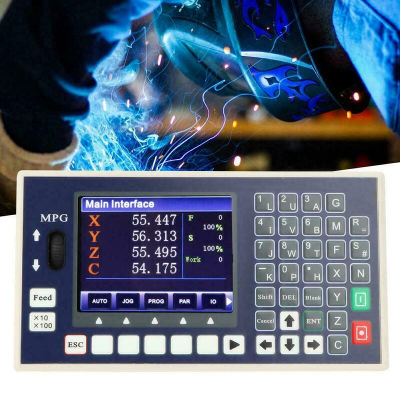 4  LCD Display CNC Controller Spindle Control Support Servo Stepper Motor