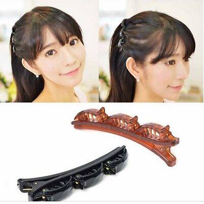 Top Frisurenhilfe Twister Strohflechte Clip Styling Tausendfüßler Haarklammer
