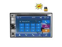 "6.2"" double din Car Stereo Radio DVD Player GPS Navigation"