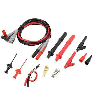 1 Set Universal Test Lead Probe Wire Pen Cable For Digital Multimeter Meter Kit