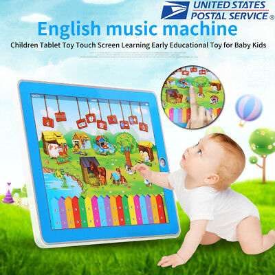 Baby Tablet Educational Toys Girls Toy For 3-6 Year Old Toddler Learning English (Toy For 3 Year Old)