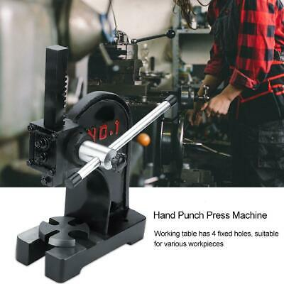 1ton Arbor Press Install Removing Bearings Manual Machine Joints Pins Assembly