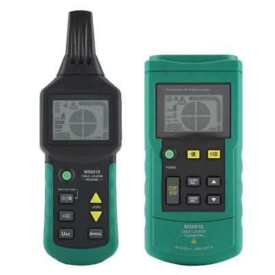 Ms6818 Handheld Acdc Wire Cable Locator Metal Pipe Detector Tester Line Tracker