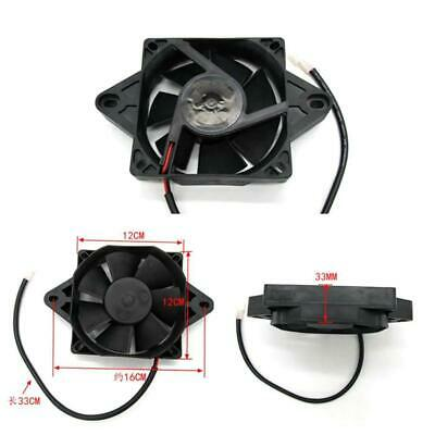 Motorcycle Cooling Fan Radiator Electric 12V Assembly Rotating Engine Motor