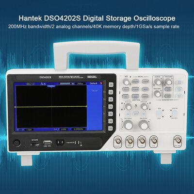 Hantek Dso4202s 2 In 1 Digital Oscilloscope 2ch 200mhz25m Signal Generator Be
