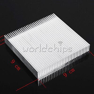 Aluminum Heat Sink Cooling 90x90x15mm Led Power Ic Transistor Dc Converter