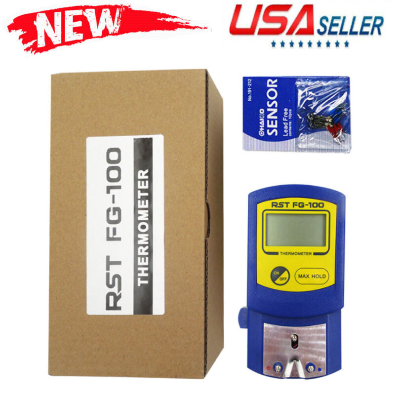 New FG-100 Soldering Iron Tip Thermometer Temperature Tester LCD Display 0-700℃