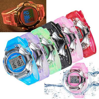 Xmas Gift Multifunction Sport Electronic Digital Wrist Watch For Child Boy Girl ()