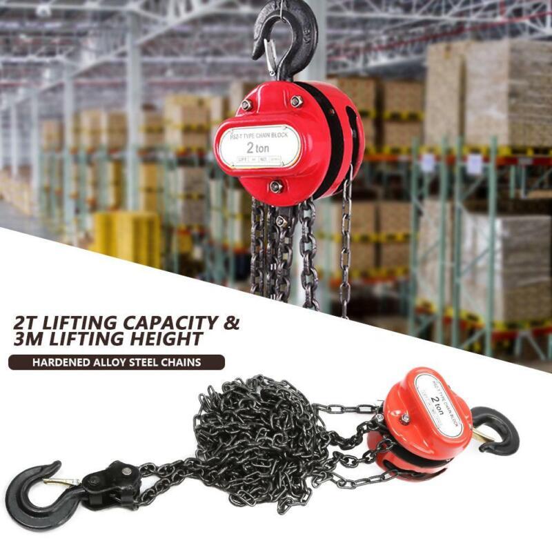 1/2 Ton Chain Puller Block Fall Chain Hoist Hand Tools Lifting Chain for Garage