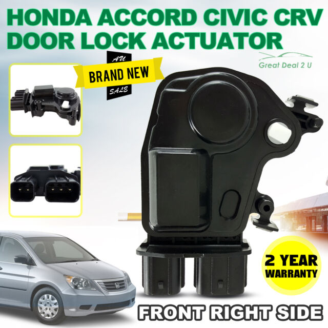 HONDA CRV ACCORD ODYSSEY CIVIC INTEGRA ACURA DOOR LOCK ACTUATOR FRONT RIGHT
