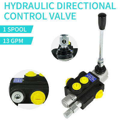 1 Spool Hydraulic Flow Directional Control Valve For Agricultural Machine New