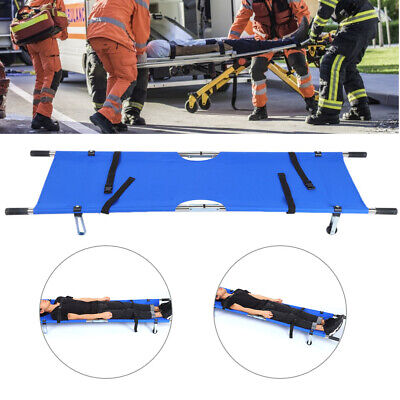Folding Medical Bed Stretcher Ambulance Emergency Portable Patient Bed