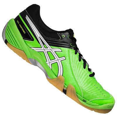 ASICS GEL-Domain 3 Herren Handballschuhe Sportschuhe Schuhe E415Y-7001 grün neu