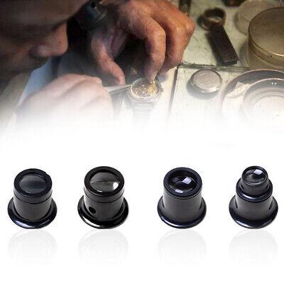 4X Eye Loupe Eyeglass Magnifier Magnifying Glass Lens For Watchmakers Repair New - Eyeglass Lens Repair