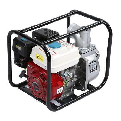 3 In 6.5 Hp Gas Water Semi Trash Pump Petrol High Pressure Irrigation 15800gph