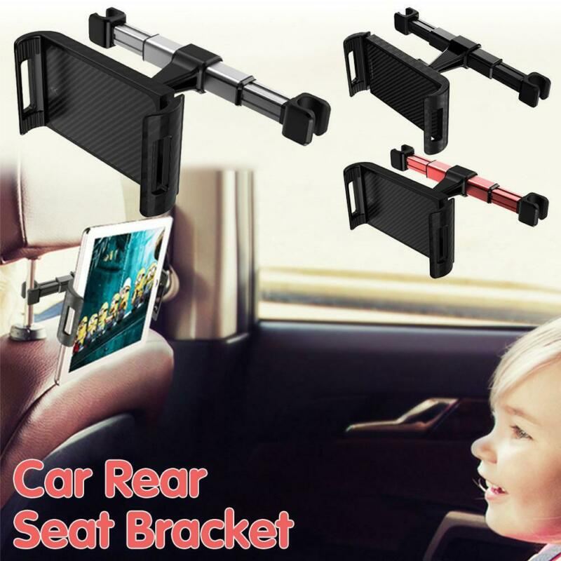 Car Rear Seat Headrest Bracket Phone Tablet Rear Pillow Stand Adjustable Holder