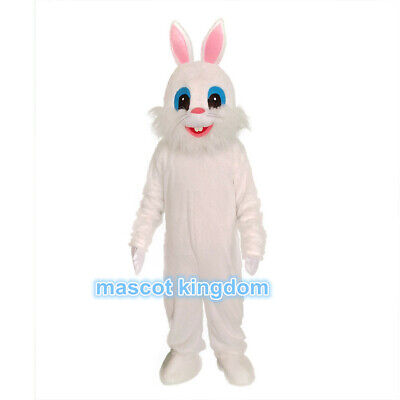 Cartoon Character Mascot Costumes (Easter bunny Mascot Costume Rabbit Cartoon Fancy Party Dress Character)