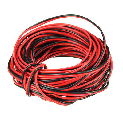10m Copper 22awg 2 Pin Red Black Diy Pvc Electric Cable Wire For Led Strip Light