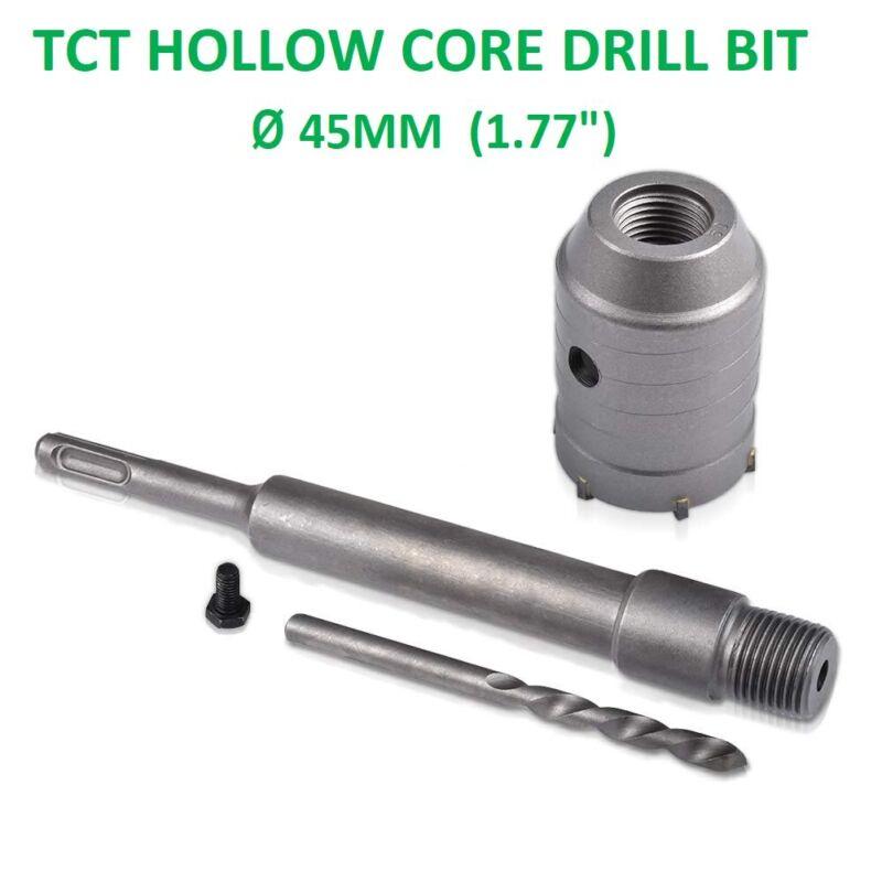 1 Set Sds Plus 68Mm Concrete Hole Saw Electric Hollow Core Drill Bit Shank W5X8