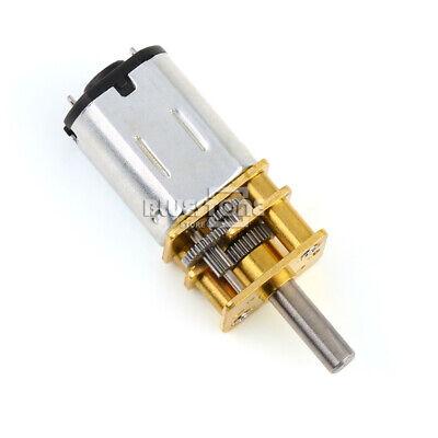 N20 Gear Motor Micro Geared Box Electric Motor Speed Reduction 6v Dc 600rpm Diy