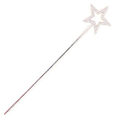 Mini Fairy Sequin Star Wand Handheld Party Favors for Kids Princess - Cardboard Star Costume