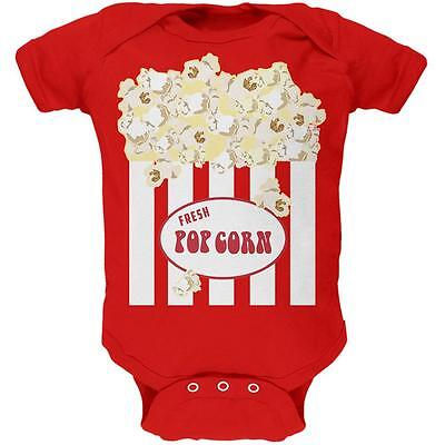 Halloween Popcorn Costume Soft Baby One Piece