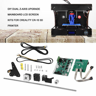 Dual Z Axis Upgrade Kit f/CR-10S 2 Lead Screw+Motor Wires+Filament Detector