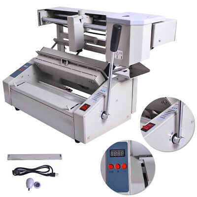 New 110v Hot Melt Glue Book Binder Perfect Binding Machine Applicator Handle