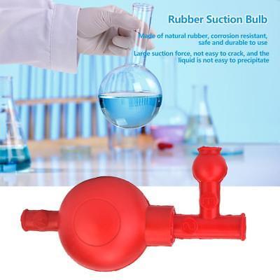3 Valves Pipette Rubber Suction Ball Pipet Filler Bulb Lab Chemistry Equipment