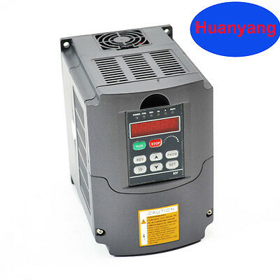 Ce 2.2kw 110v Variable Frequency Drive Inverter Vfd For Cnc Huan Yang Brand