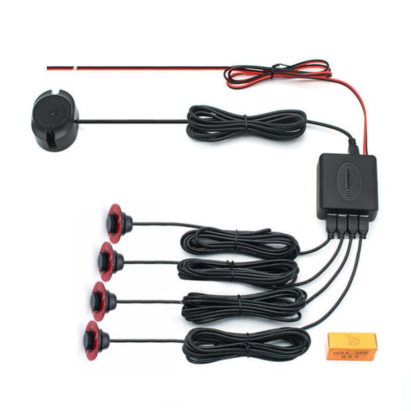 Car Parking Sensor Kit Video Assistant Reverse Backup Radar Monitor Indicator