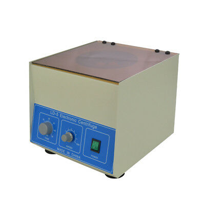 Ld-5 Hq Electric Benchtop Centrifuge 4000rpm 850ml Lab Medical Practice