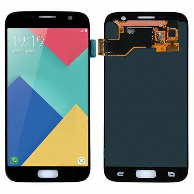 Für Samsung Galaxy S7 SM-G930F LCD Display Touch Screen Bildschirm Glas Schwarz