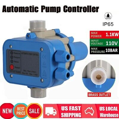 Automatic Water Pump Pressure Controller Electric Electronic Switch Control Unit