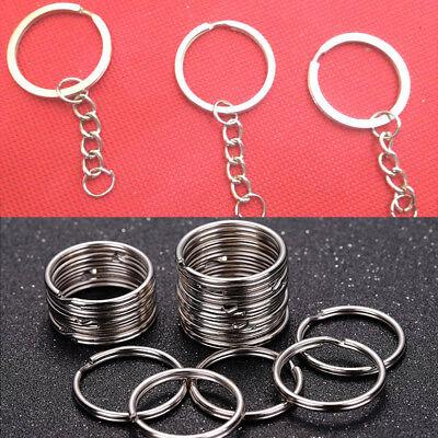 25pcs Bulk Keyring Keychain Split Ring with Short Chain Key Rings DIY Key Chain](Keychains Bulk)